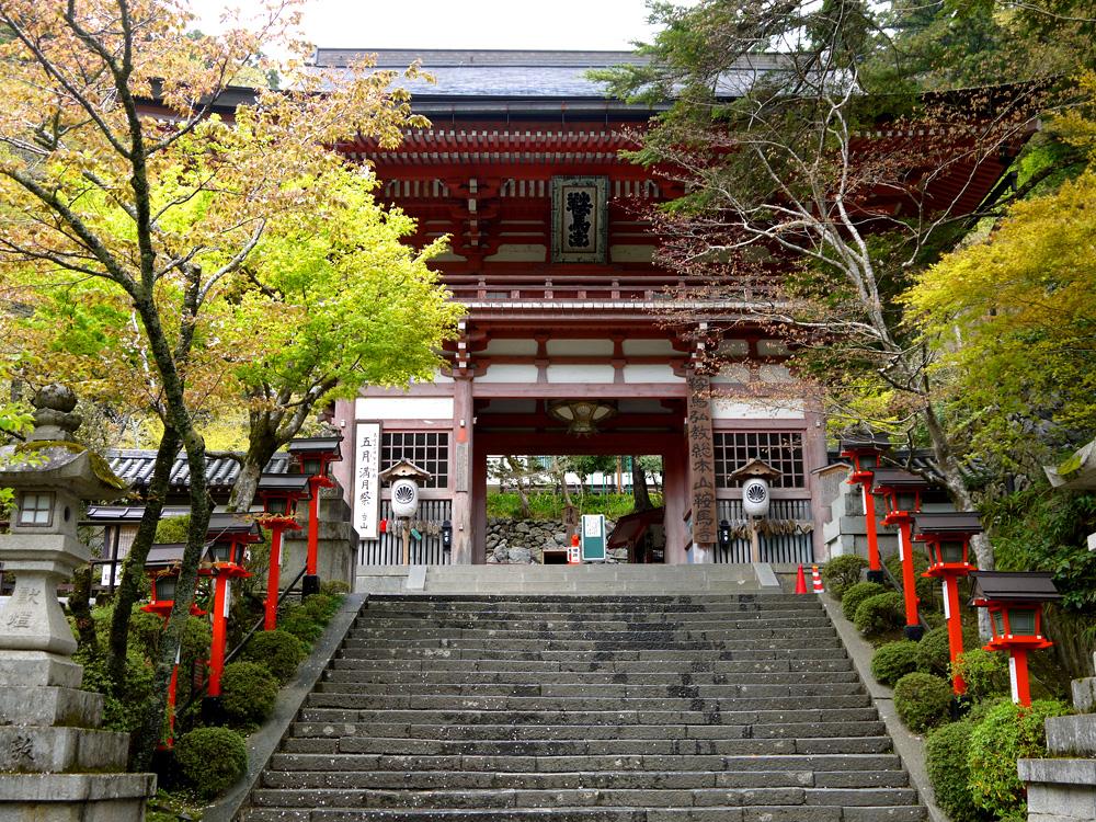 京都 鞍馬寺の写真素材