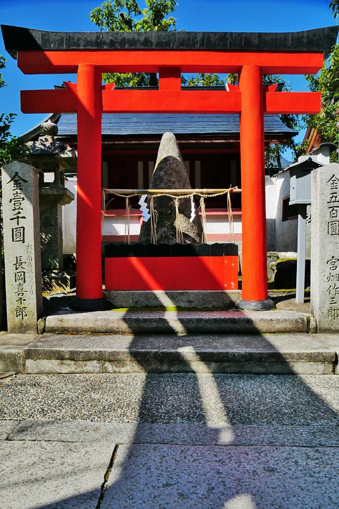 車折神社の写真素材