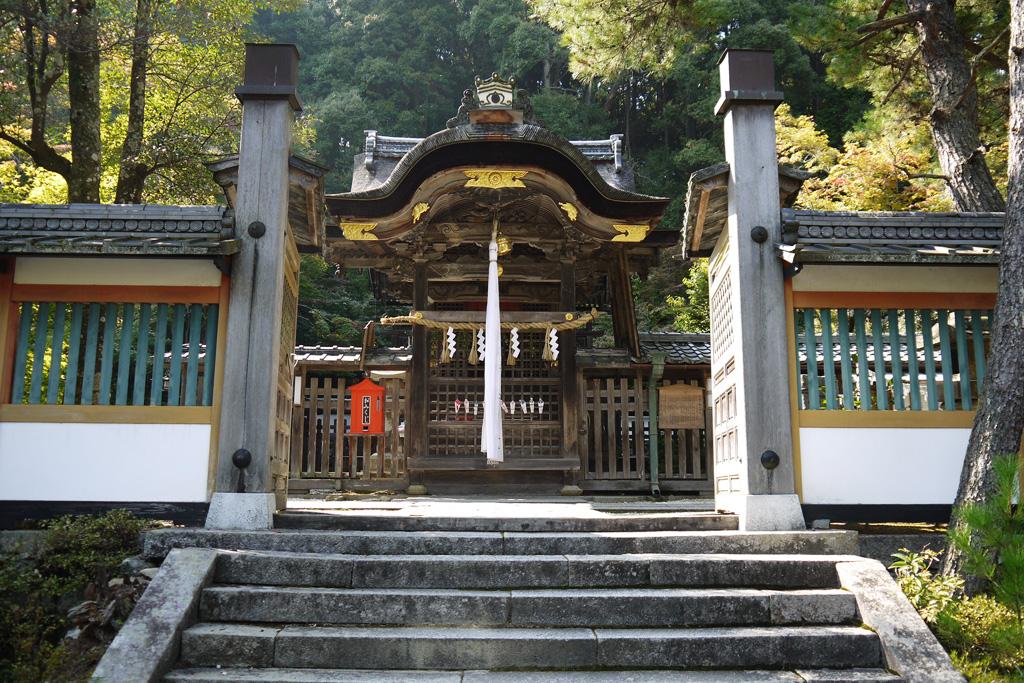 鍬山神社の写真素材