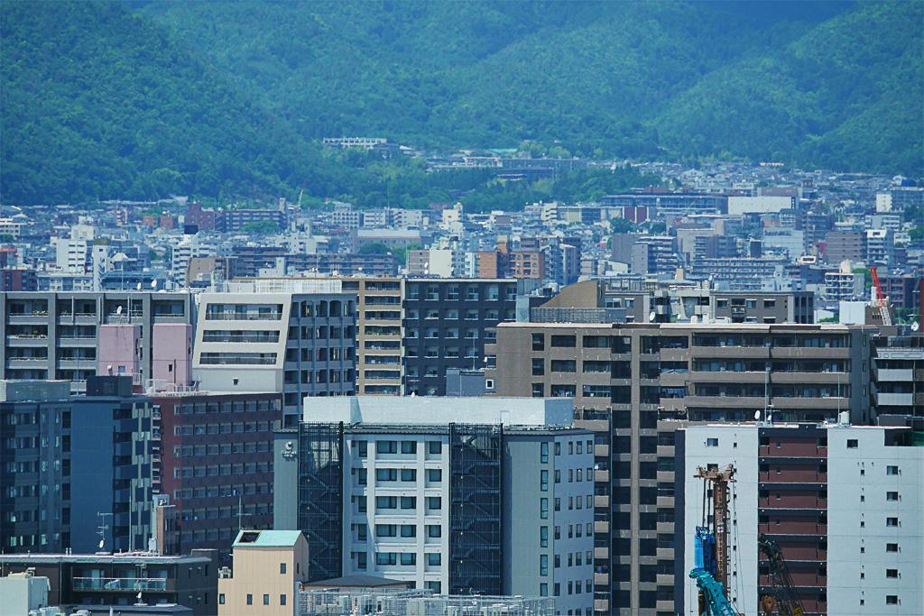 都会 京都の写真素材