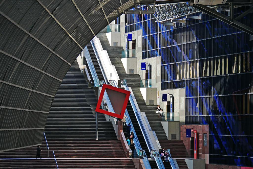 京都駅の写真素材
