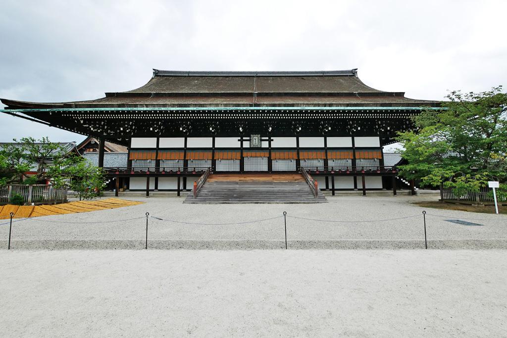 京都御所の写真素材