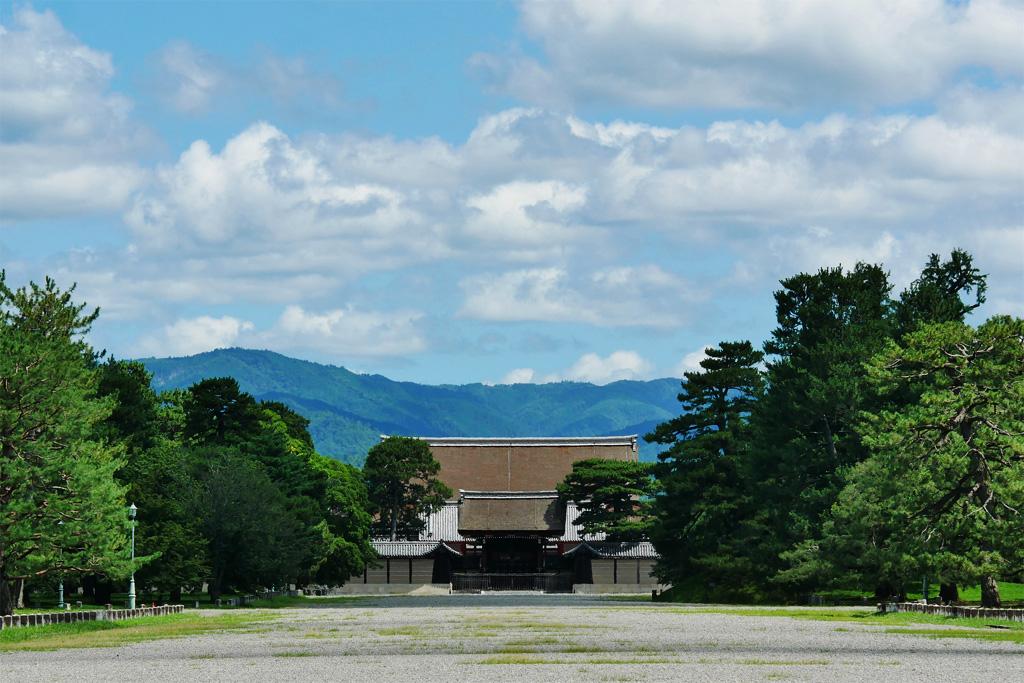 京都御苑の写真素材