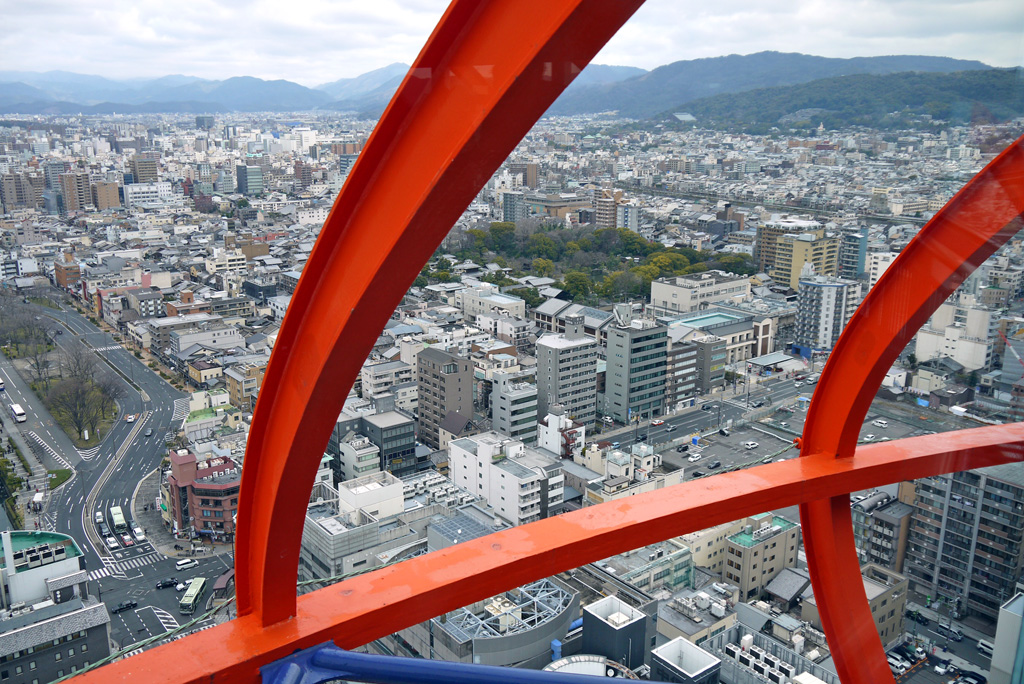 京都タワー  無料画像