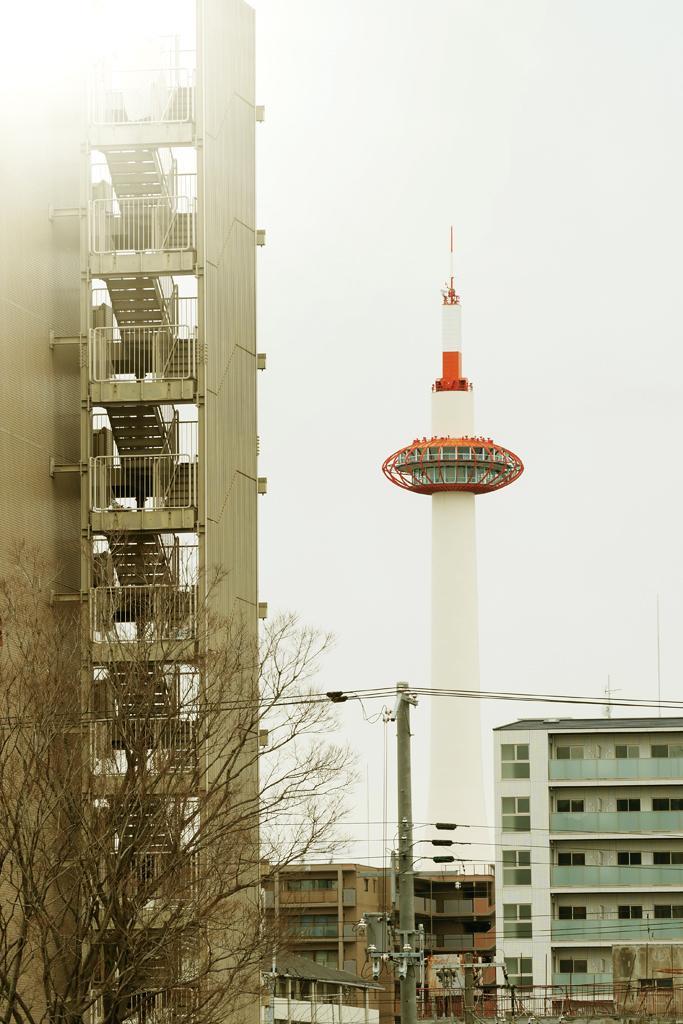 京都タワーの写真素材