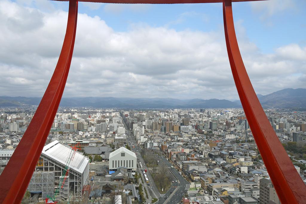 京都タワー  無料画像 写真素材