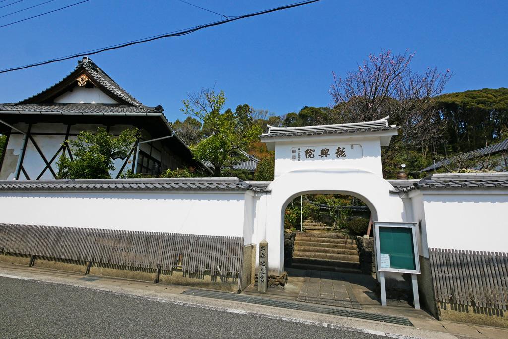 萬福寺 龍興院の写真素材