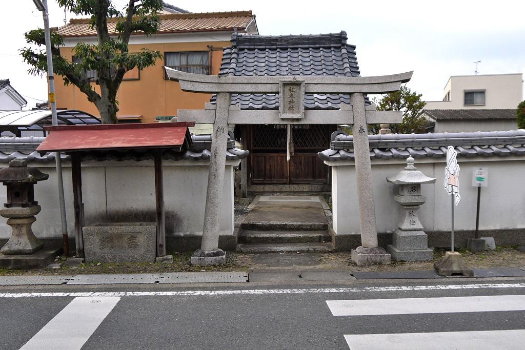 松本神社の写真素材