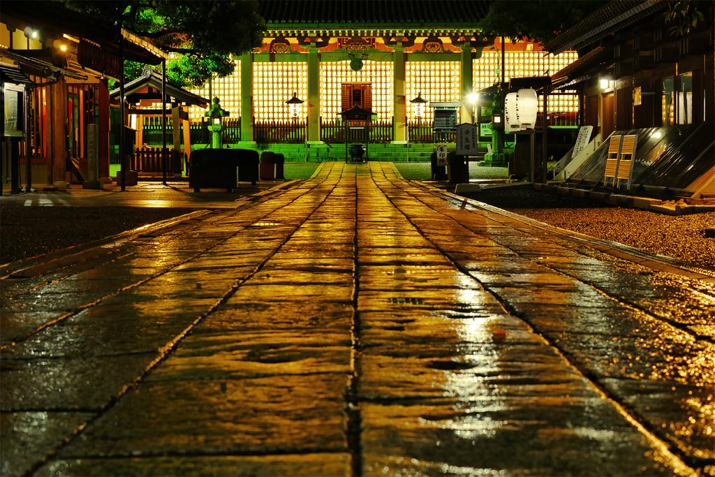 壬生寺 万灯供養会の写真素材