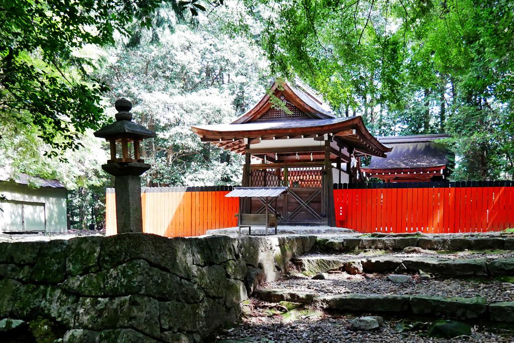 御蔭神社の写真素材
