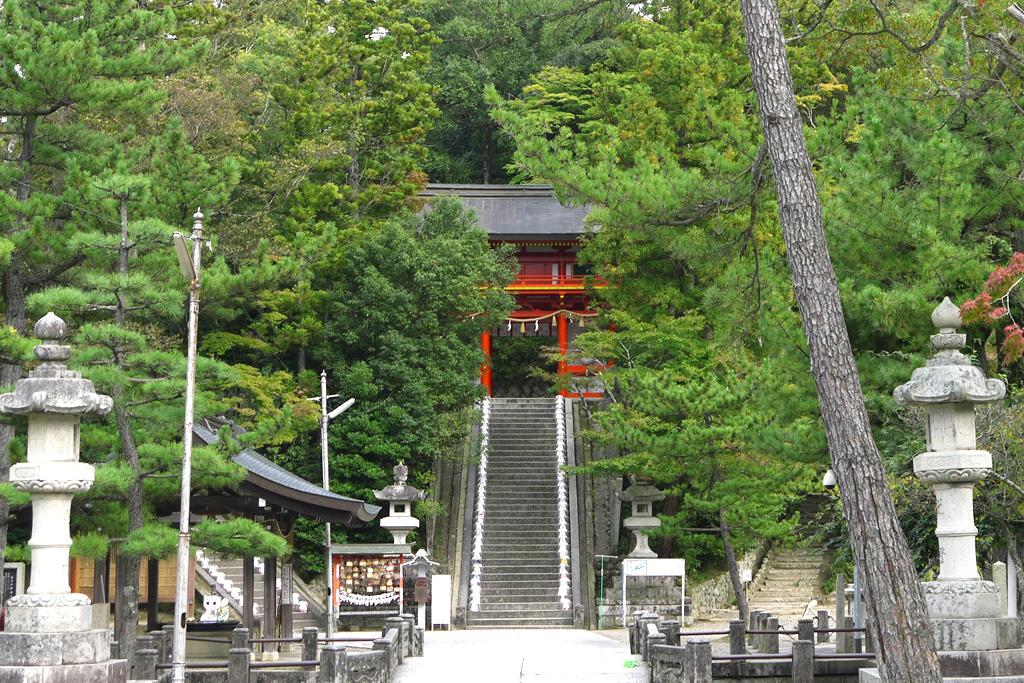 峰山 金刀比羅神社の写真素材
