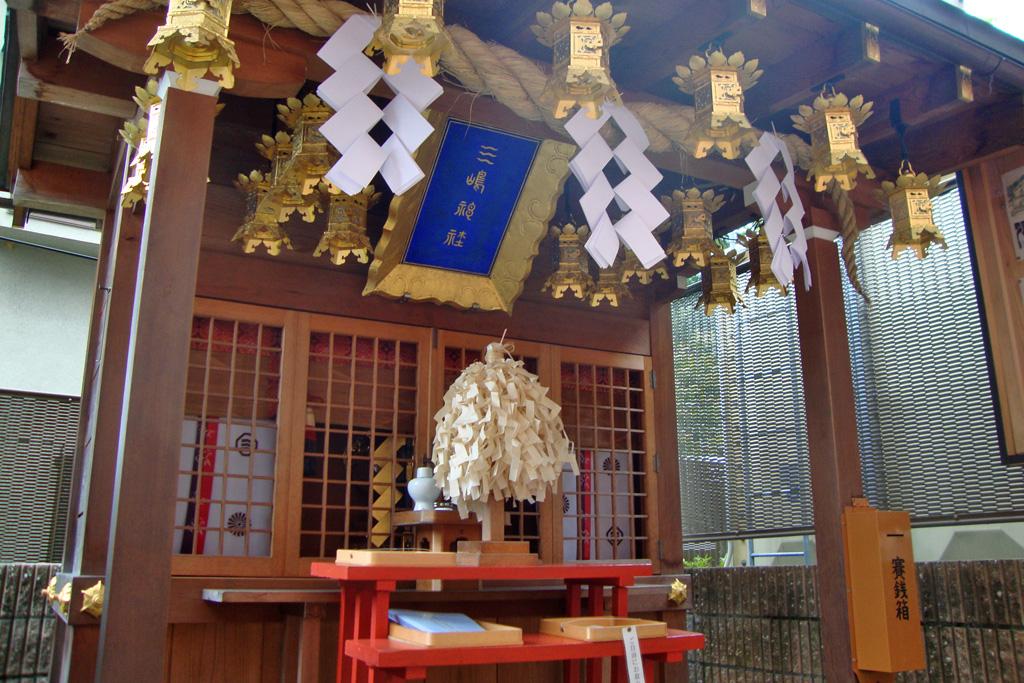 三嶋神社の写真素材