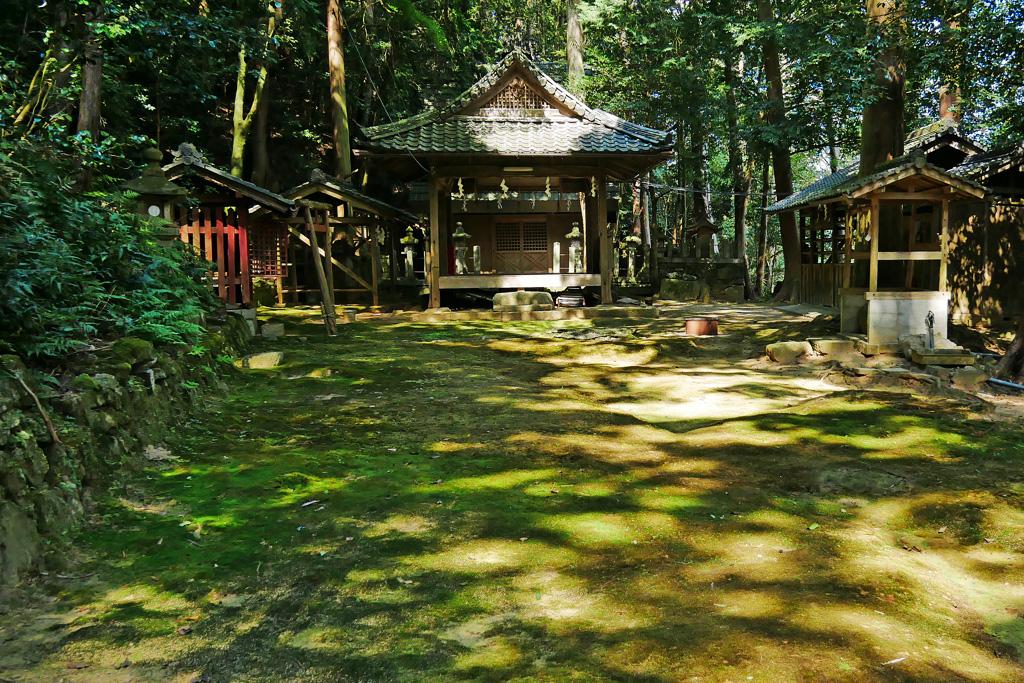 宮垣神社の写真素材