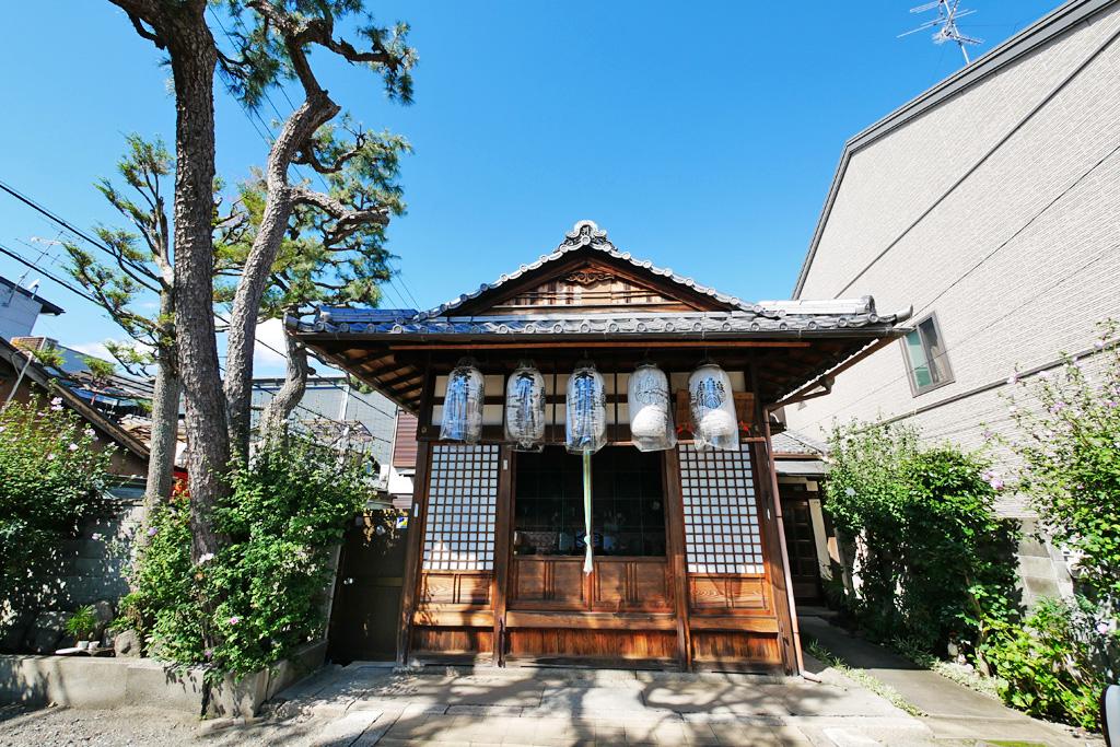 西林寺(木槿地蔵)の写真素材