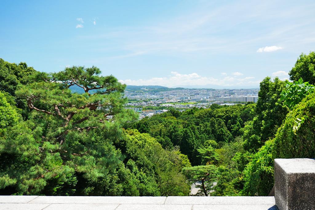 明治天皇伏見桃山陵の写真素材