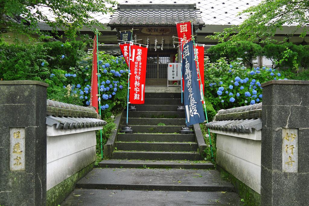 妙行寺の写真素材