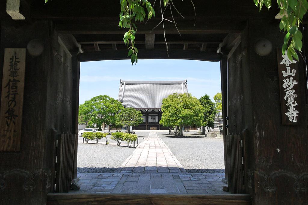 妙覚寺の写真
