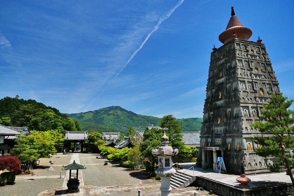 妙満寺の夏の写真素材