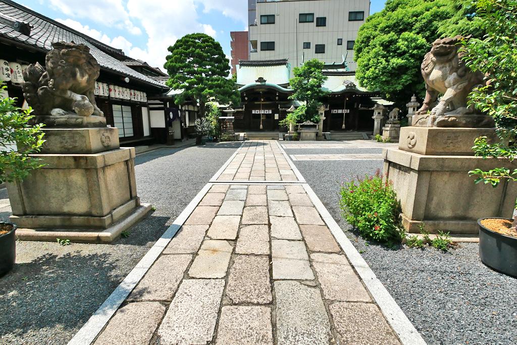 梛神社(元祇園社)の写真素材