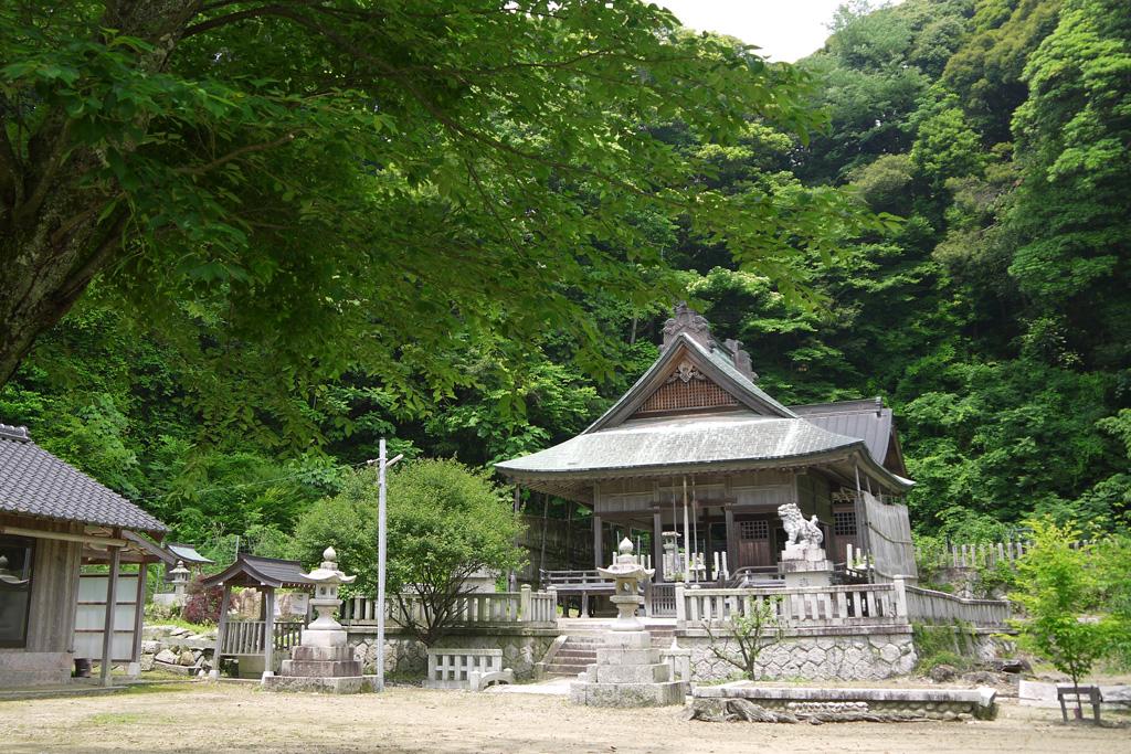 奈具神社の写真素材