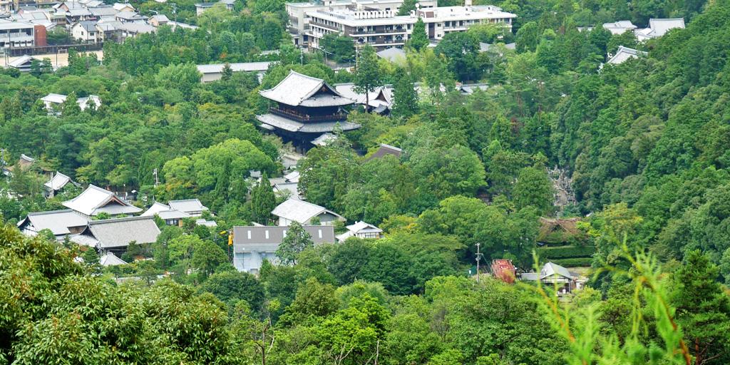 南禅寺 遠景