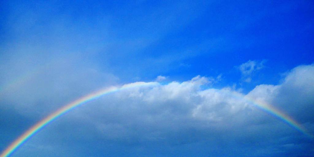 虹 RAINBOWの写真素材