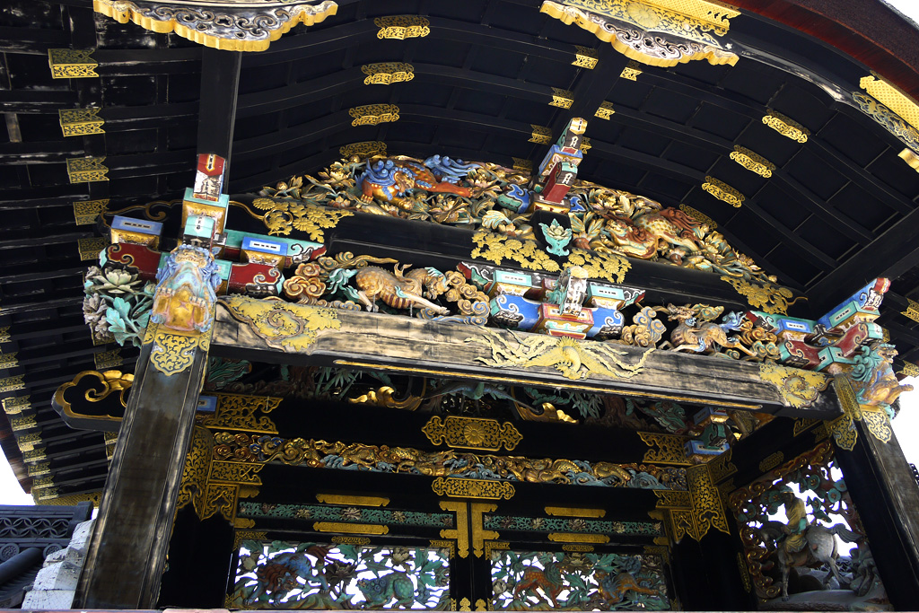 西本願寺 唐門の写真素材