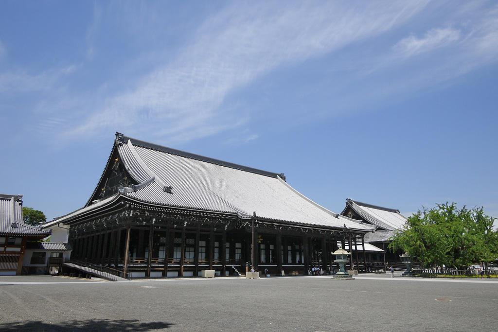 西本願寺の写真素材