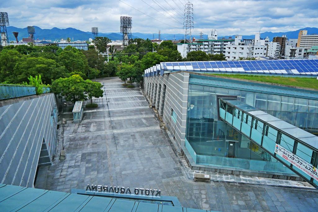 京都アクアリーナ 西京極総合運動公園の写真素材