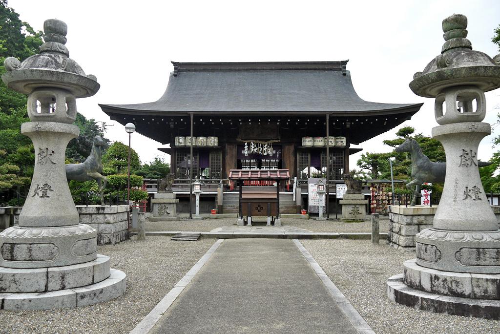 乃木神社の写真素材