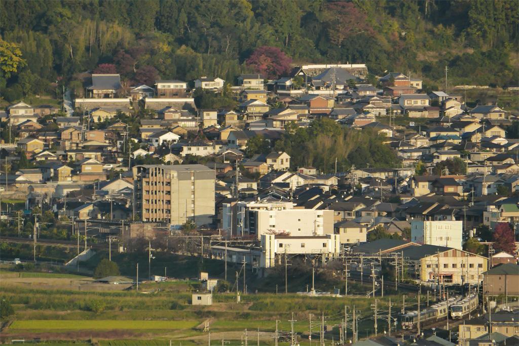 亀岡市の如意寺の写真素材
