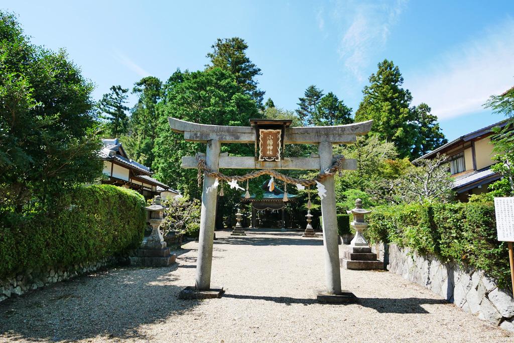 亀岡 小幡神社の写真素材