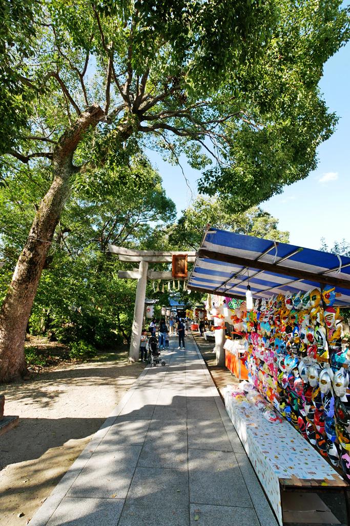 巨椋神社の写真素材