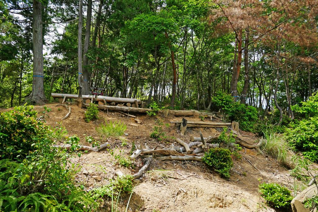 小倉山の写真素材