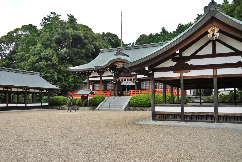 岡田國神社の写真素材