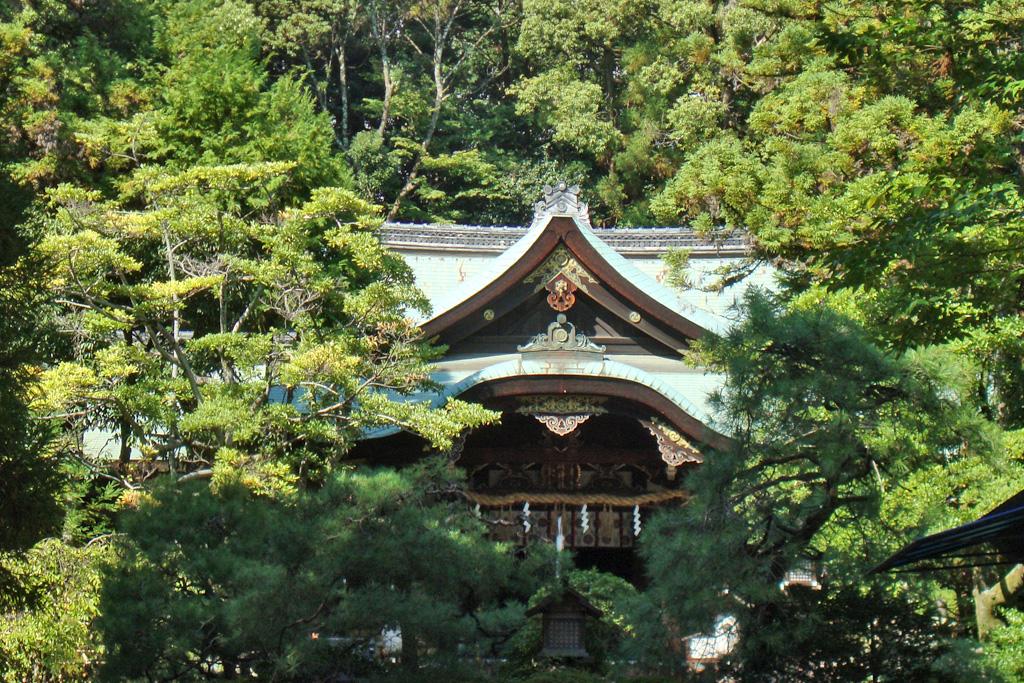 岡崎神社の写真素材