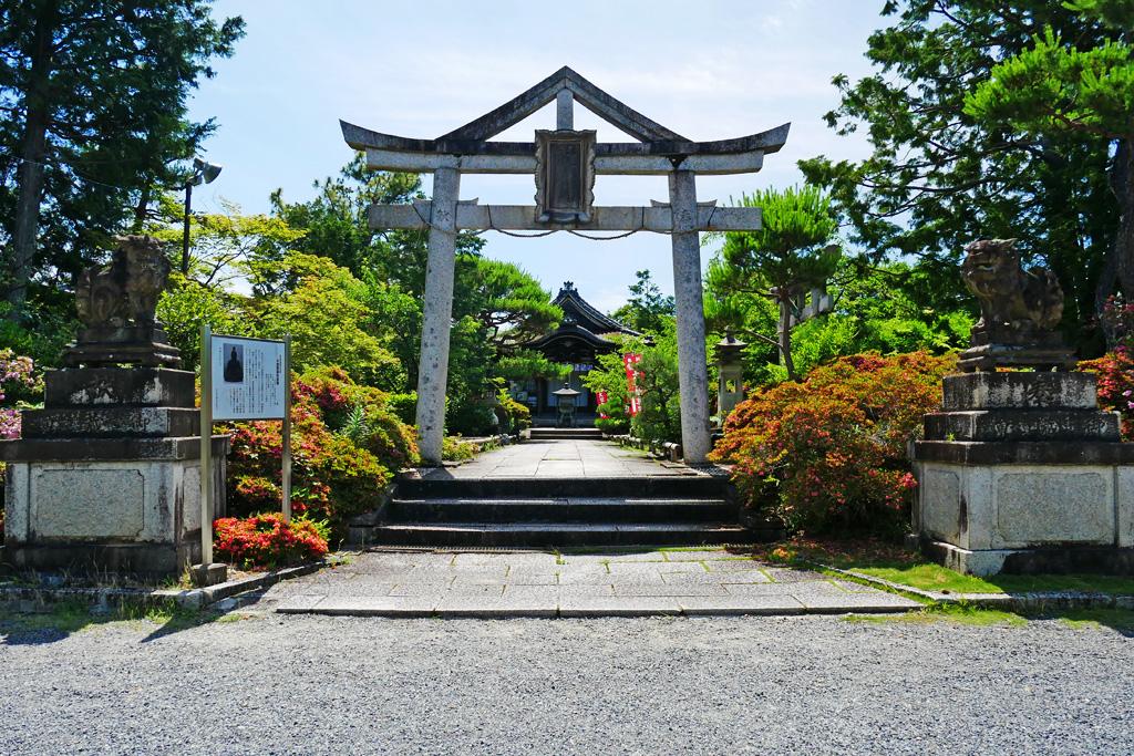 御蔵山聖天(宝寿寺)の写真素材