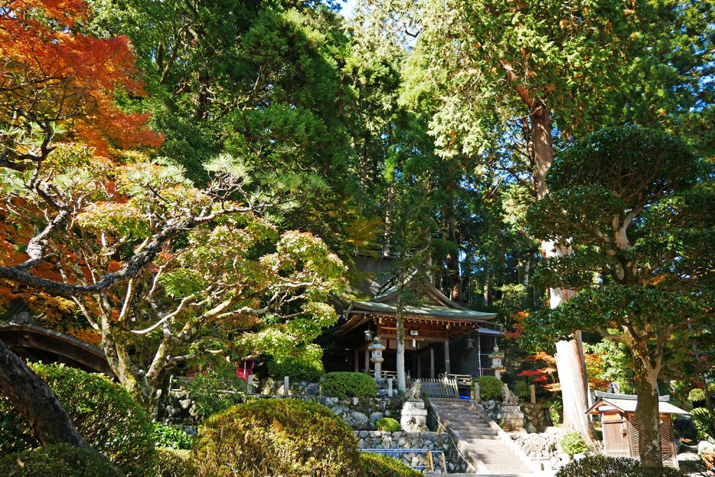 奥山田天神社の写真素材