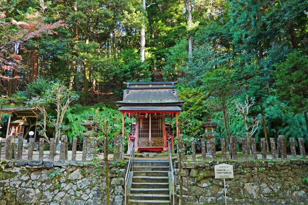 大道神社の写真素材