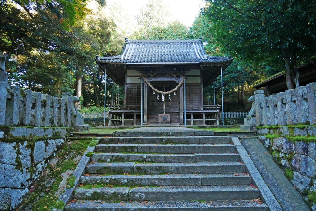 大虫神社の写真素材