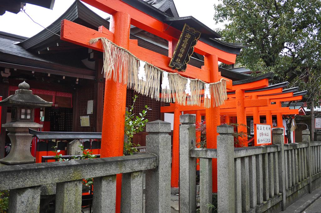御辰稲荷神社の写真素材