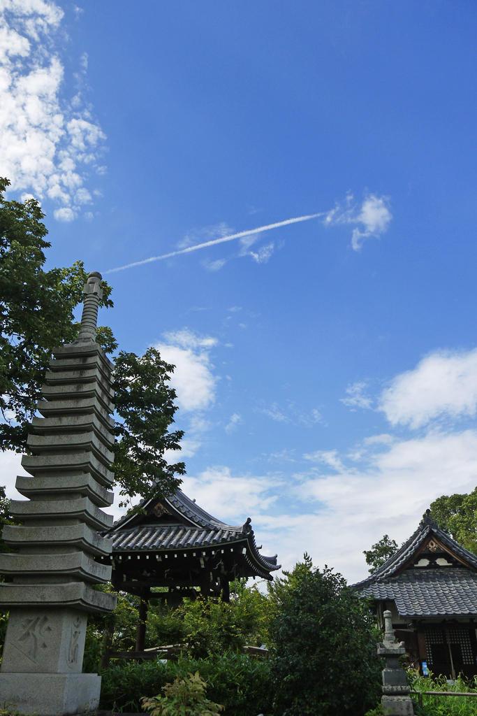 乙訓寺の写真素材