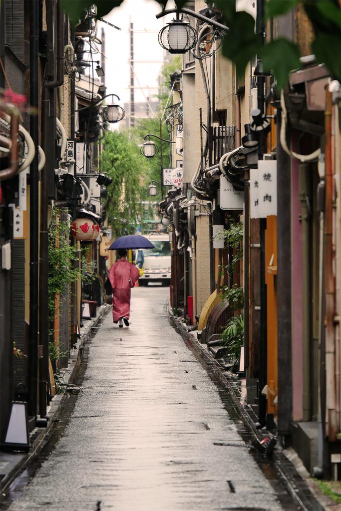 先斗町の写真素材
