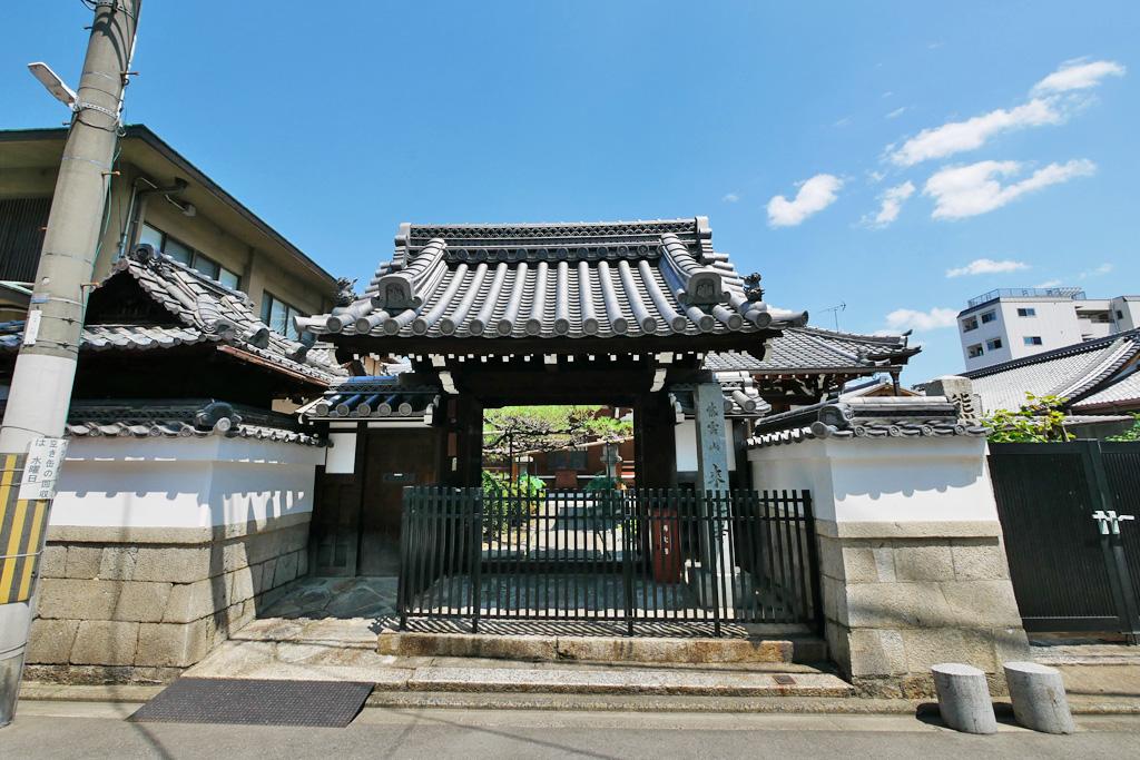 来迎寺(中京区)の写真素材