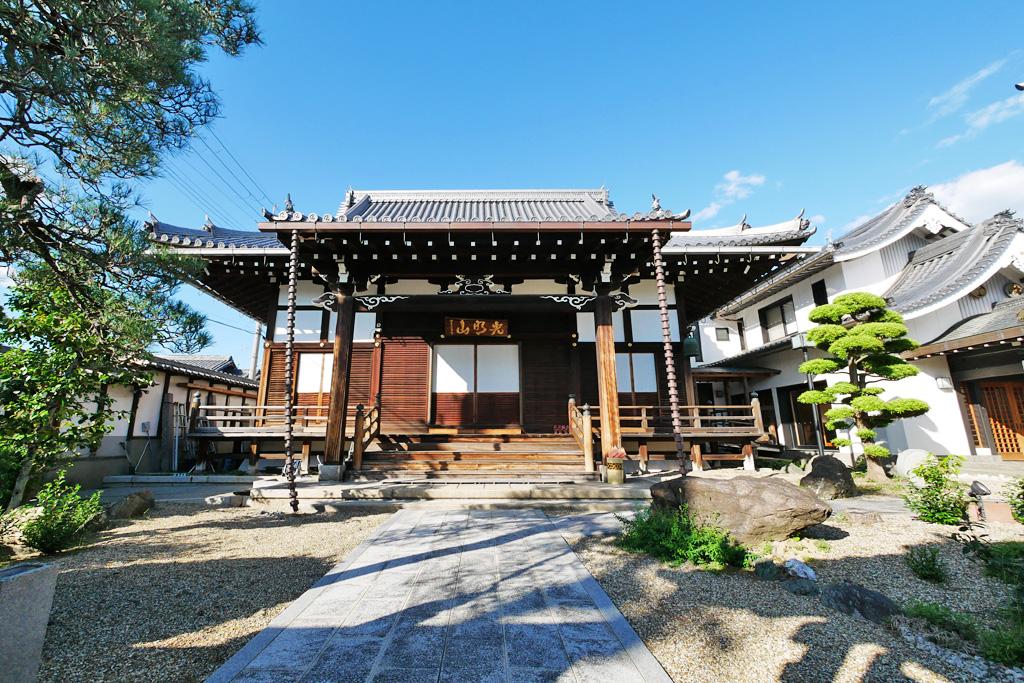 来迎寺の写真素材
