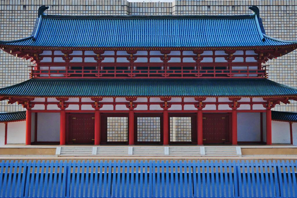 羅城門の写真素材
