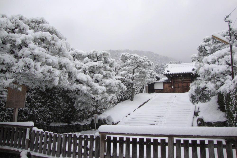 雪の霊鑑寺