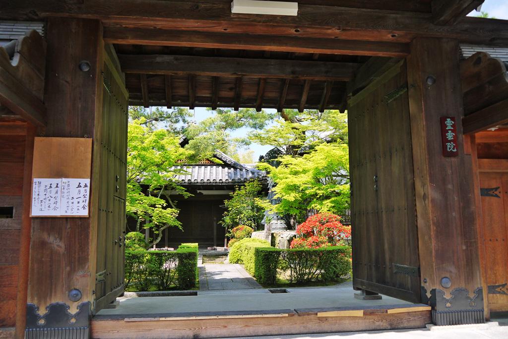 妙心寺 霊雲院の写真素材