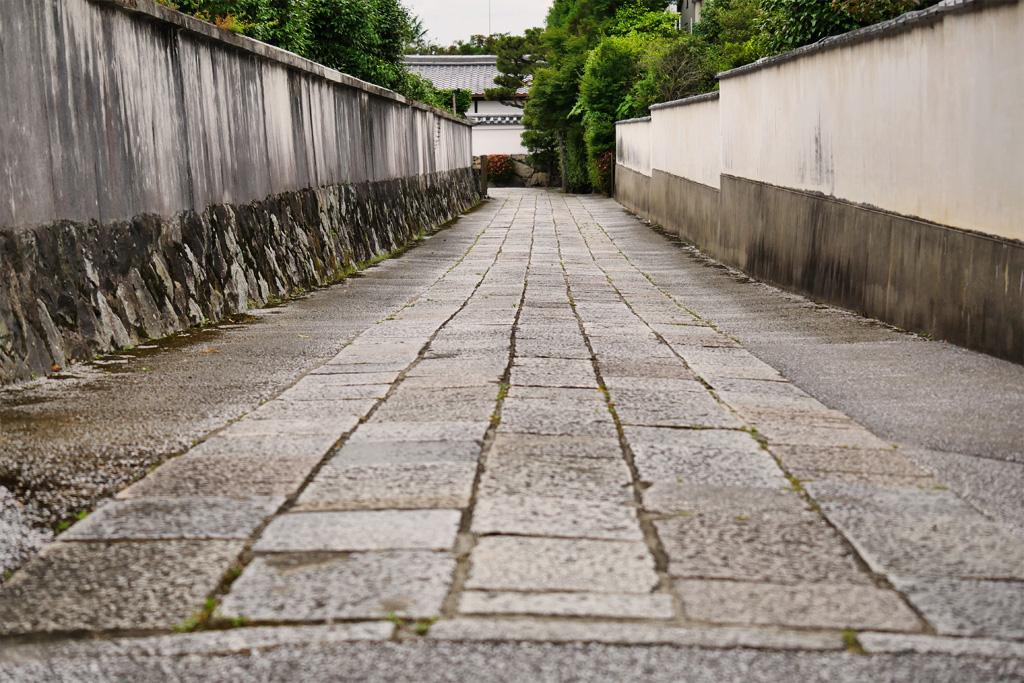 東福寺 霊雲院参道の写真素材