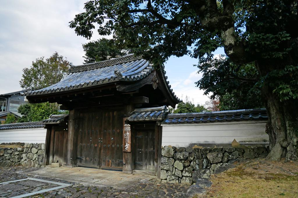 臨川寺の写真素材